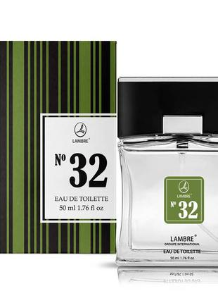 Туалетная вода  50 мл lambre №32 pour homme