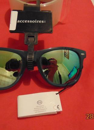 Стильние фирменние солнцезащитние очки окуляри Германия бренд C&A