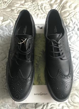 Итальянские мужские туфли lumberjack  размер 45