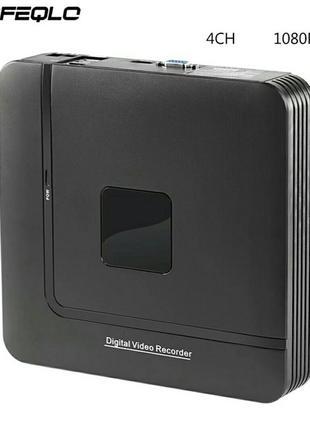 Видеонаблюдение, регистратор FullHD 1080P N1004F h.264