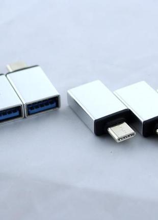 Переходник OTG USB - Type-C