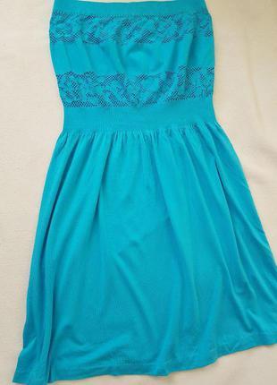 Красивое, летнее платье из натуральной трикотажной ткани