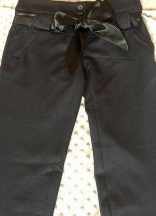 Шикарные брюки с атласным поясом