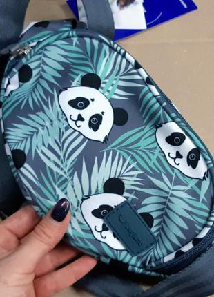 Бананка, барсетка, сумка на пояс, панда, женская сумка
