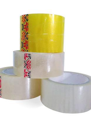 Скотч прочный 500 300 200 100 60 клейкая лента упаковочный крепки