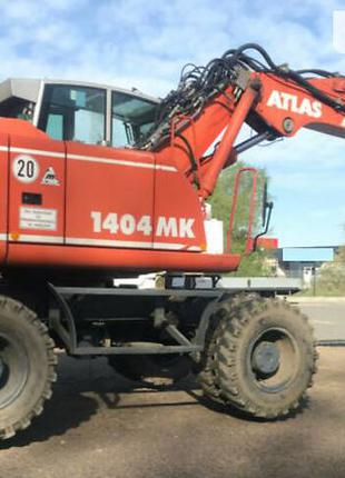 Предоставляем услуги экскаватора-погрузчика ATLAS 1404