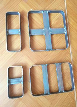 Нож резак для вырубки пластика кожи картона ткани вырубной