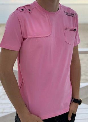 Стильная качественная мужская футболка,турция