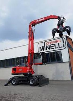 Minelli (Италия) на колесном ходу.