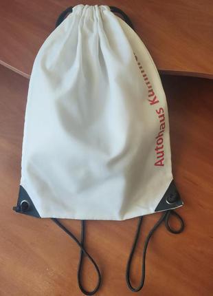 Мешок, сумка,  рюкзак для сменной обуви, спортивной одежды.