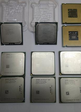 Процессоры Intel,AMD socket 775/AM2/AM3/1155