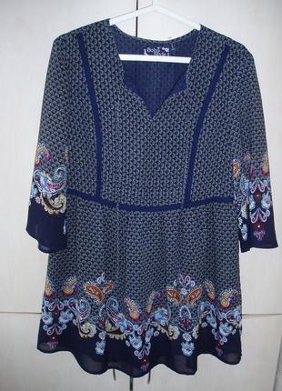 Блуза-туника в бохо-стиле