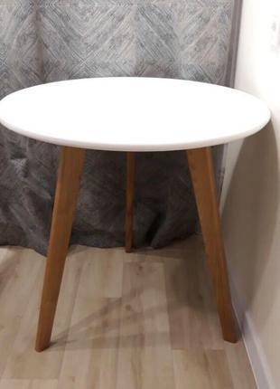 Круглий столик з натурального дерева ціна від виробника