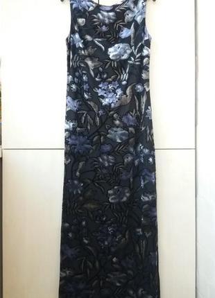 Платье макси двухтысячные