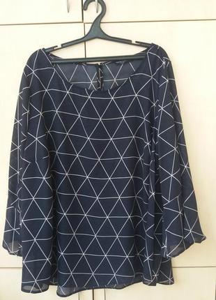 Блуза большой размер 3xl