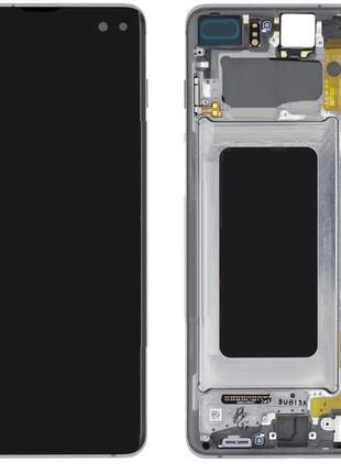 Дисплей Samsung G975 Galaxy S10 Plus Black оригинал GH82-18849A