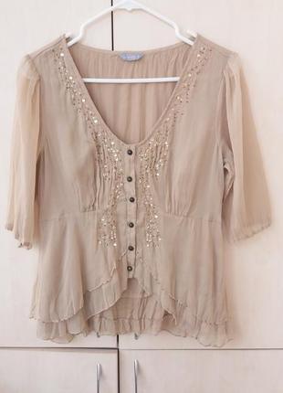 Блуза декор