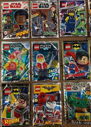 Наборы Lego Hidden side,Nexo Knights,Ninjago,Batman, Star Wars...