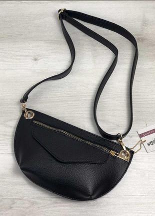 Женская сумка сумка на пояс- клатч