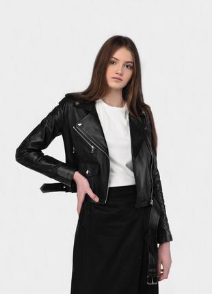 Куртка женская кожаная Марта 42