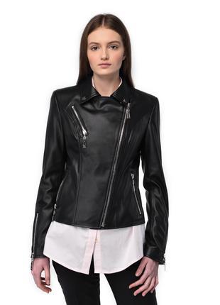 Куртка кожаная женская Марта 38