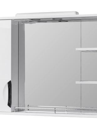 Зеркало в ванную Грация 75см (с подсветкой)