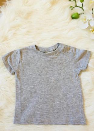 Новая футболка, 62, футболка для малыша 3-6 мес, футболка летняя