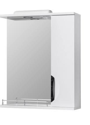 Зеркало в ванную Грация 55см (с подсветкой)