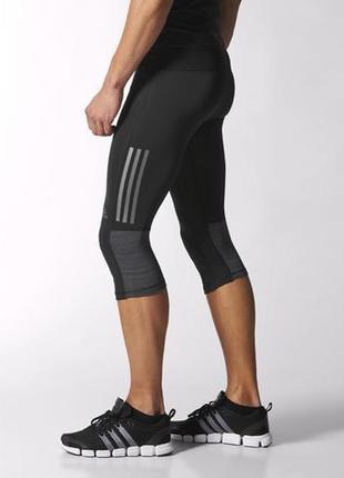 Прекрасные мужские спортивные капри лосины тайтсы adidas super...