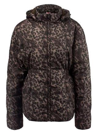 Куртка женская с леопардовым принтом lee cooper большой размер 18