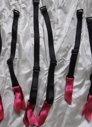 Подвязки для чулок черные