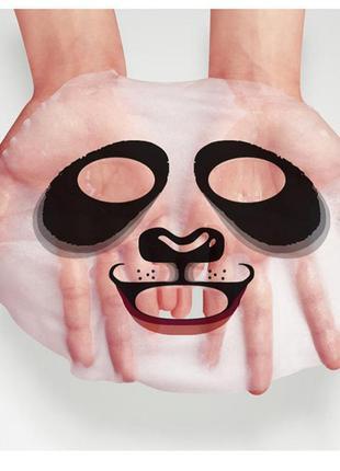 Тканевая маска в стиле панда