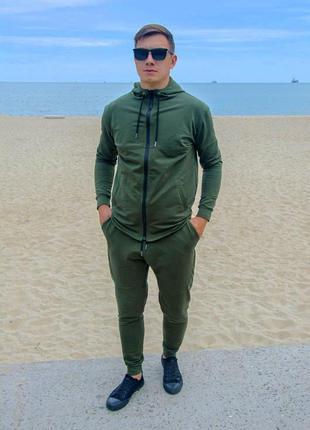 Мужской спортивный костюм 2 цвета