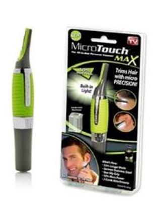 Триммер универсальный micro touch max, бритва для носа и ушей,...