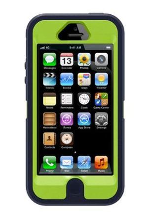 Чохол OtterBox для iPhone 5 Blue-Green