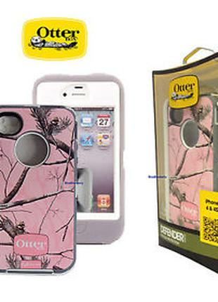 Чохол OtterBox Defender для iPhone 4 / 4S Pink