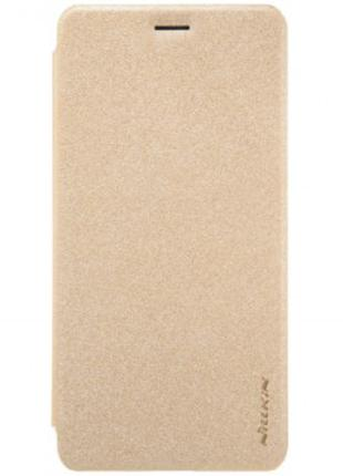 Чохол-книжка Nillkin Sparkle Series для Huawei P10 Lite Gold