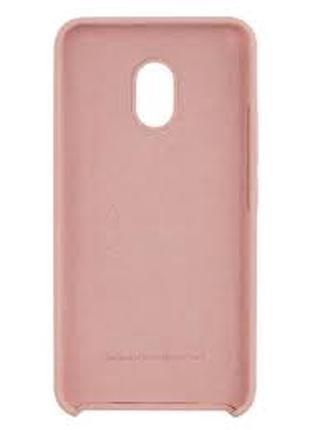 Панель Soft Touch Silicone case для Meizu M5 Pink