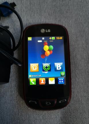 LG мобильный телефон на 2 сим карты