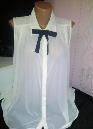 Шифоновая блуза vero moda xs - s