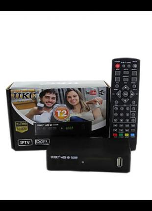 Цифровой эфирный тюнер UKC DVB-T2 с поддержкой wi-fi