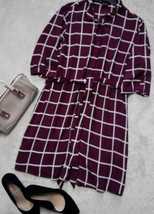Платье рубашка,туника размер 12-14 new look