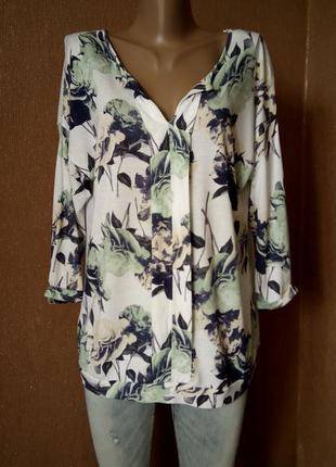Блузка с шифоновой спинкой размер 14-16 next