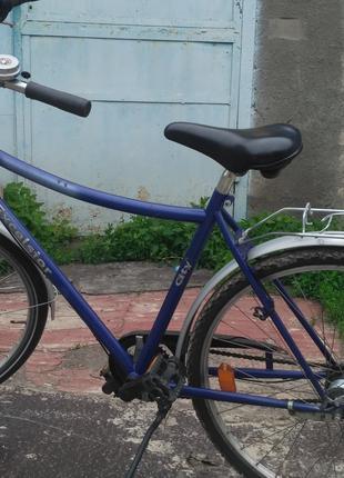 Велосипед из Германии на планетарке 28 колёса тормоз педалями