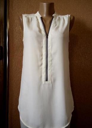 Блузка с красивой кружевной спинкой размер 6-8 warehouse