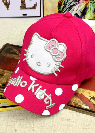 13-95 кепка hello kitty детская бейсболка панамка шапка головн...
