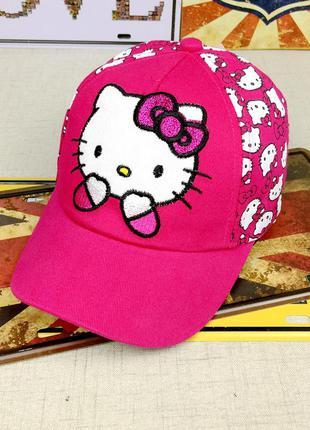 13-162 кепка hello kitty хелло китти детская бейсболка панамка...