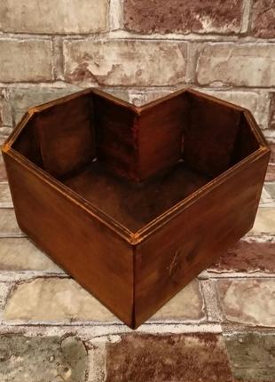 Ящик для флористики и декора