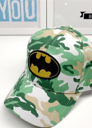 13-168 кепка batman бэтмен детская бейсболка панамка шапка