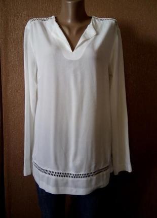 Блузка с длинным рукавом размер 10-12 autograph